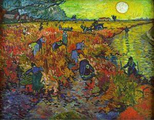 Vincent van Gogh - la vigne rouge